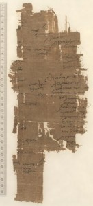 Census register from Karanis, Egypt, 160/1 AD